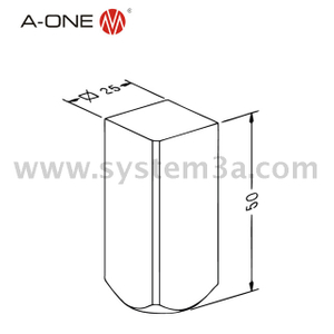 Square 25 electrode shaft 3A-300078